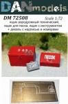 1-72-Airfield-technical-drawer-a-sand-box-a-box-for-supplies