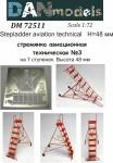 1-72-Stepladder-aviation-technical-3-7-steps-height-48mm