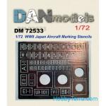 1-72-Stencil-for-marking-Japanese-aircraft-World-War-II
