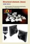 1-35-Structural-element-base-20-pc