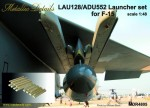 1-48-Launcher-set-LAU-128-ADU-552-for-F-15