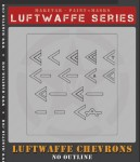 RARE-1-32-Luftwaffe-Chevrons-Without-Outline