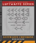 RARE-1-32-Luftwaffe-Chevrons-With-Outline