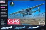 1-72-C-145-Transport-Aircraft-17x-decal-versions