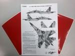 1-72-Digital-Su-27UB-Heller-Trumpeter-kits-MASK
