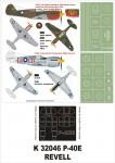 1-32-P-40E-Revell