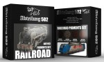 RAILROAD-PIGMENTS-SET