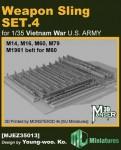 1-35-Weapon-Sling-SET-4-for-VIETNAM-War-U-S-ARMY