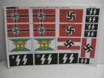 1-35-German-War-Flags-WWII-on-Real-Cotton-Set-2