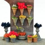 1-35-Flower-Pot-Set-incl-Assorted-Flowers