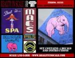 1-35-Wall-Advertisement-Decals-1930-1950-Belgium-set-1-4-pcs-