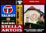 1-35-Wall-Advertisement-Decals-1930-1950-Belgium-set-2-4-pcs-