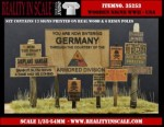 1-35-Real-Wooden-Signs-WWII-USA-Set-1