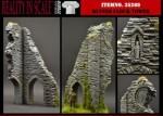 1-35-Ruined-Clock-Tower-2resin-pcs-