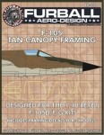 1-48-This-sheet-provides-two-sets-of-tan-canopy-framing-decals-for-the-Revell-Monogram-F-105-D-F-G-kits