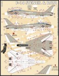 1-48-Grumman-F-14A-Stencil-and-Data-set