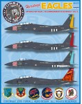 1-48-McDonnell-F-15C-F-15E-Heritage-Eagles-covers-4-USAF-F-15s-in-colorful-commemorative-schemes