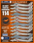 1-48-Colors-and-Markings-of-US-Navy-Grumman-F-14s-Part-Eleven-F-D-and-S-4820-