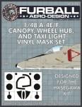 1-48-Douglas-A-4E-F-Skyhawk-Canopy-Wheel-Hub-and-Taxi-Light-masks