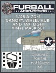1-48-Vought-A-7D-E-Corsair-Canopy-Wheel-Hub-and-Taxi-Light-masks