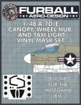 1-48-Vought-A-7D-E-Corsair-Canopy-Wheel-Hub-and-Taxi-Light-masks