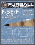 1-48-Canopy-and-wheel-hub-masks-for-the-1-48-AFV-Club-F-5E-F-kit-One-set-of-F-5E-and-one-set-of-F-5F