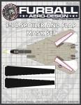 1-48-Grumman-F-14A-Tomcat-Spoiler-and-Flap-Mask-Set