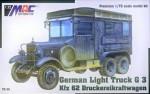 1-72-Kfz-62-Druckereikraftwagen-German-Light-Truck