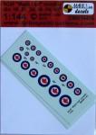 1-144-RCAF-Mapple-Leaf-roundels-2-sets