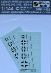 1-144-Luftwaffe-WWII-late-crosses-2-sets