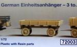 1-72-German-3000-Einheitsanhanger-3-tonnen-standard-trailer