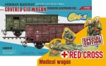 1-35-Gedeckter-Guterwagen-G10-6in1-Red-Cross