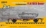 1-35-Flachwagen-0mmr-German-Railway-Flatbed-Ommr