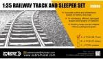 1-35-Railway-Track-set-Schienen-Set-3571-cm