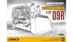 1-72-D9R-ARMORED-BULLDOZER-w-SLAT-ARMOR