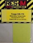 1-72-Canopy-Masks-for-Fouga-CM-170-VALOM