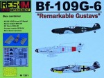 1-72-Bf-109G-6-and-detail-sets-Remarkable-Gustavs