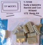 1-72-Barrels-and-cans-16pcs-