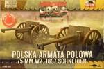 1-72-Cannon-75mm-wz-1897-Schneider-2-pcs-