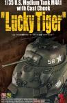 1-35-U-S-Medium-Tank-M4A1-with-Cast-Cheek-Lucky-Tiger