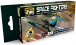 SPACE-FIGHTERS-SCI-FI-COLORS-akryl