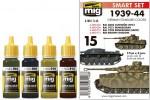 1939-1944-GERMAN-STANDARD-COLORS-4-x-17ml-akryl