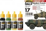 MODERN-FRENCH-ARMED-FORCES-COLORS-4-x-17ml-akryl