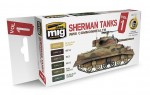 Set-Sherman-Tanks-Vol-1-WWII-Commonwealth-acryl-6x17ml