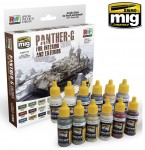 PANTHER-G-Colors-Set-for-Interior-and-Exterior-Set-akryl-12x17ml