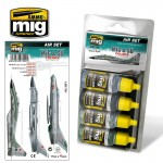 MiG-SU-COLORS-Grey-Green-Fighters-4-x-17ml-akryl