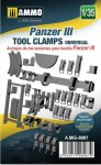 1-35-Panzer-III-tool-clamps-universal