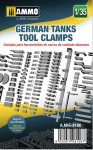 1-35-German-Tanks-Tool-Clamps