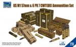 1-35-US-M1-57mm-and-6PR-7cwt-BR-Ammunition-Set-Model-kits-x4