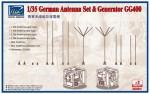 1-35-German-Antenna-Set-and-GG400-Generator-Model-kits-x2